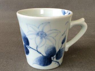 染付野の草花シリーズ マグカップ てっせんの画像