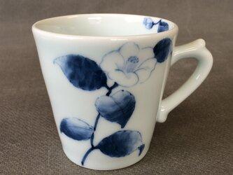 染付野の草花シリーズ マグカップ 椿の画像