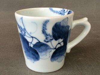 染付野の草花シリーズ マグカップ 葛の画像