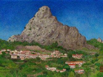 グラサレマの岩山の画像