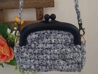 手編み*Coin purse がま口小銭入れ 小物いれ がま口財布 accessory case【HANDMADE*HK*】の画像