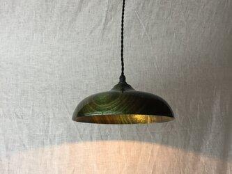木と漆のランプ 楠 (ks16)の画像