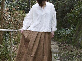 正絹 ロングスカートの画像