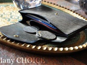イタリアンレザー・革新のプエブロ・ミニマム財布3色の画像