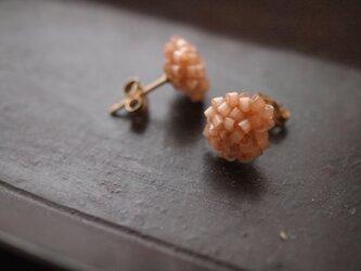 タティングレース 14kgf  confeito(コンフェイト)silk beads  pink 受注制作の画像