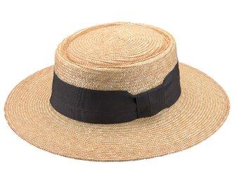 Alma アルマ ポークパイ型 つば広カンカン帽 グレー 57.5cm [UK-H074-GY]の画像