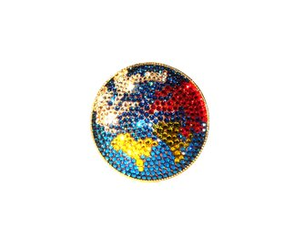 Earth Brooch  ~CRYSTALLIZED™ - Swarovski Elements~の画像