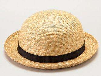 ルナ 麦わら セーラー帽子 子供用 ストローハット 帽子 54cm [UK-H010-SBK54]の画像