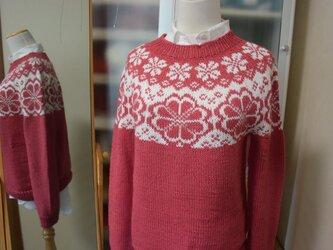 初コットンウールセーターお試し価格の画像