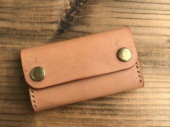 カードケース(名刺入れ):ヌメ革の画像