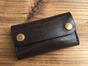 カードケース(名刺入れ):チャコールグレーの画像