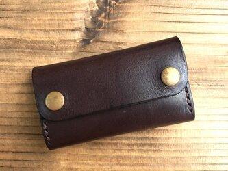 カードケース(名刺入れ):チョコブラウンの画像