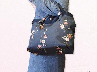 【1点限り】しだれ桜トート2WAYショルダーバッグの画像