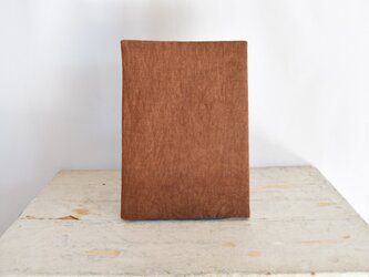 B5ノートカバー|柿渋染めのノートカバー #01の画像