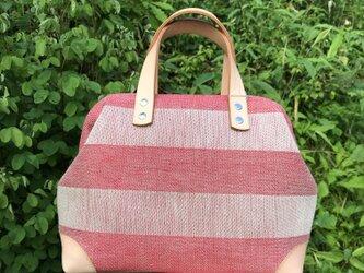 Boston bag  S size [Växbo Lin]の画像