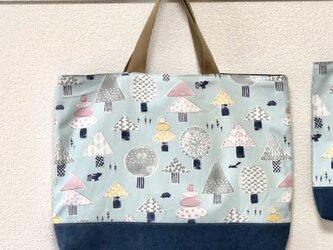 Lesson bag  【森の木々】の画像