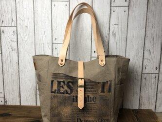 宅急便送料無料☆army duc square tote bag Mplus gbの画像