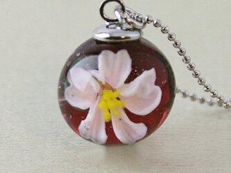 桜しずくのペンダント2の画像