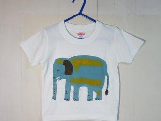 キッズTシャツ(ゾウ) 100㎝の画像