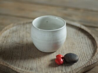 白釉 丸湯のみ(無)の画像