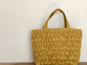 Smocking tote bag【s】の画像