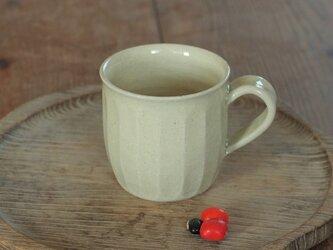 白橡釉マグカップ(面)の画像