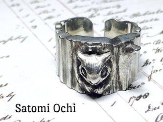 エゾモモンガのリング silver925の画像
