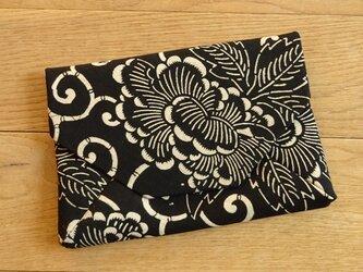木綿を楽しむ数寄屋袋(ちょっぴり難あり)の画像