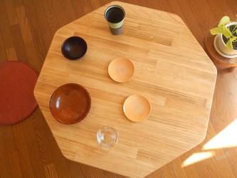 ハチカク80ローテーブルの画像