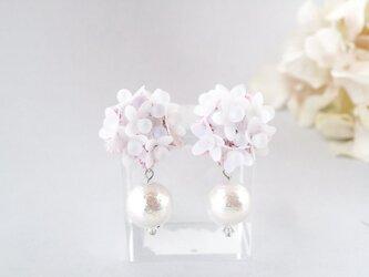 紫桜の耳飾りの画像