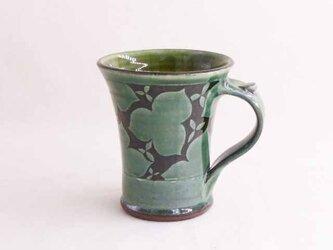 エンレイソウのマグカップ(織部)の画像