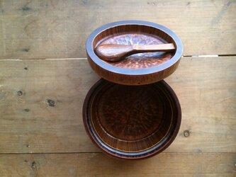 竹と漆の弁当箱 bl1の画像