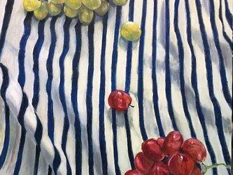 油彩画 『葡萄』の画像