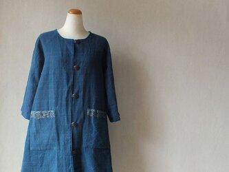 石瓶藍の里から・・7分袖の(半手縫い)半コートできましたの画像