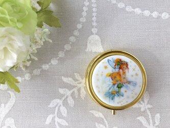 マーガレットの妖精 コンパクトミラー付きケースの画像