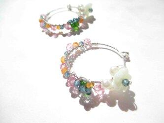 【romantic pierced earrings3】の画像