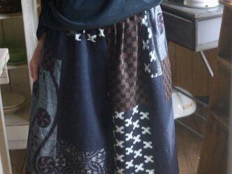 久留米絣などからスカートパンツの画像