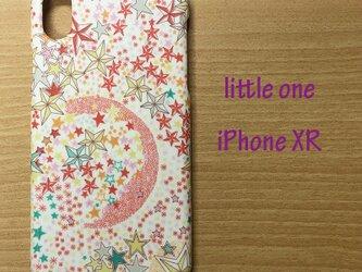 【リバティ生地】アデラジャピンク iPhone XRの画像