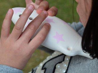はじめてのセラリーナ 楽器初心者や子供のための指先能力向上に♪(color:星柄Pink)の画像