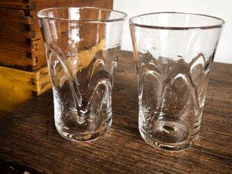 波紋グラスの画像
