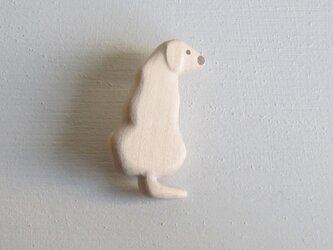 ブローチ Labrador Retriever2の画像