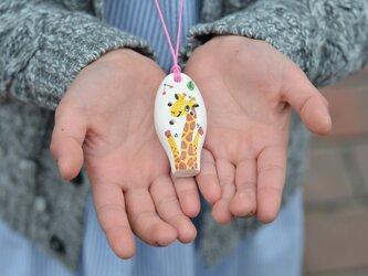 ミニセラリーナ6音 動物柄(きりん)子供の指先能力向上やプレゼントに♪の画像
