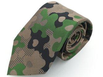 Camo-floral ネクタイの画像