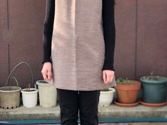 織物着物からお散歩チュニックMの画像