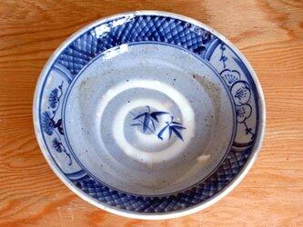 染付平鉢(松竹梅図)の画像