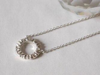 Native circle necklace(sv)の画像