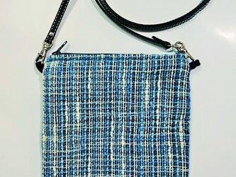 手織りミニショルダーバックの画像