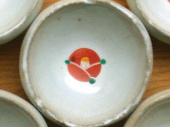 1月末再販予定 赤い椿の豆皿の画像