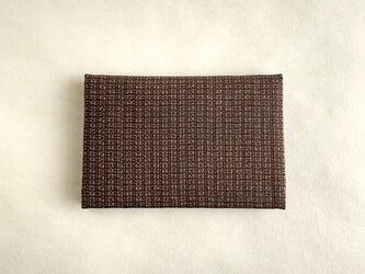絹カード入れ(絣・B)の画像