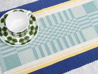 手織りマット【M−Rep*01】の画像